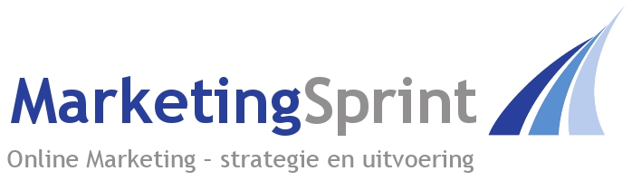 Logo MarketingSprint - Online Marketing - strategie en uitvoering